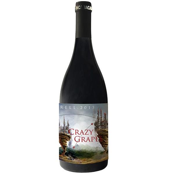 FIBCRAZY-Monastrell-Crazy Grapes-Finca Bacara-Jumilla-Spanien-trocken-0,75l