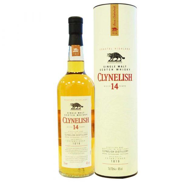 Clynelish 14 - Single Malt Scotch Whisky mit Schachtel