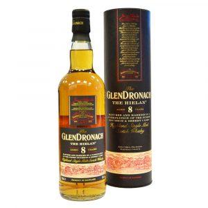 GlenDronach The Hielan 8 years mit Schachtel