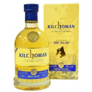 Kilchoman Islay Single Malt Scotch Whisky mit Schachtel