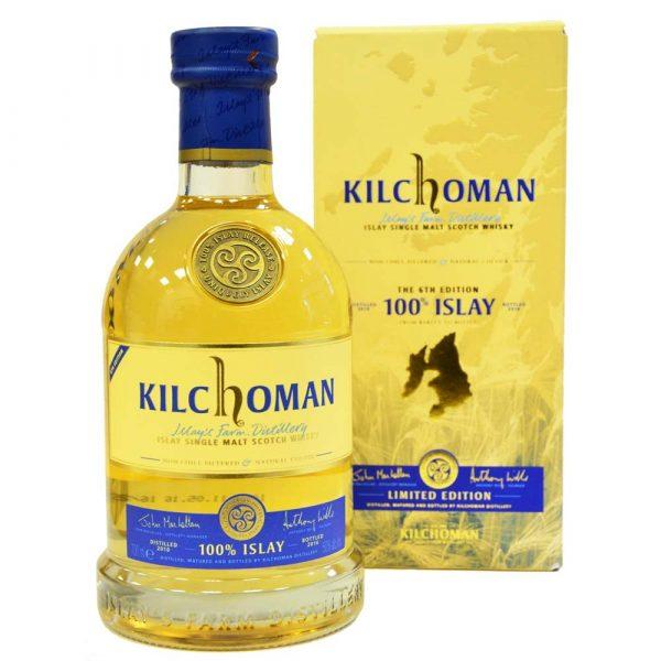 Kilchoman Islay Single Malt Scotch Whisky mit Schachtel