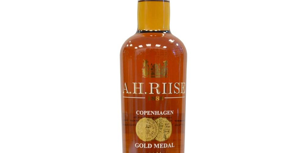A.H. Riise - 1888 Copenhagen Gold Medal rum