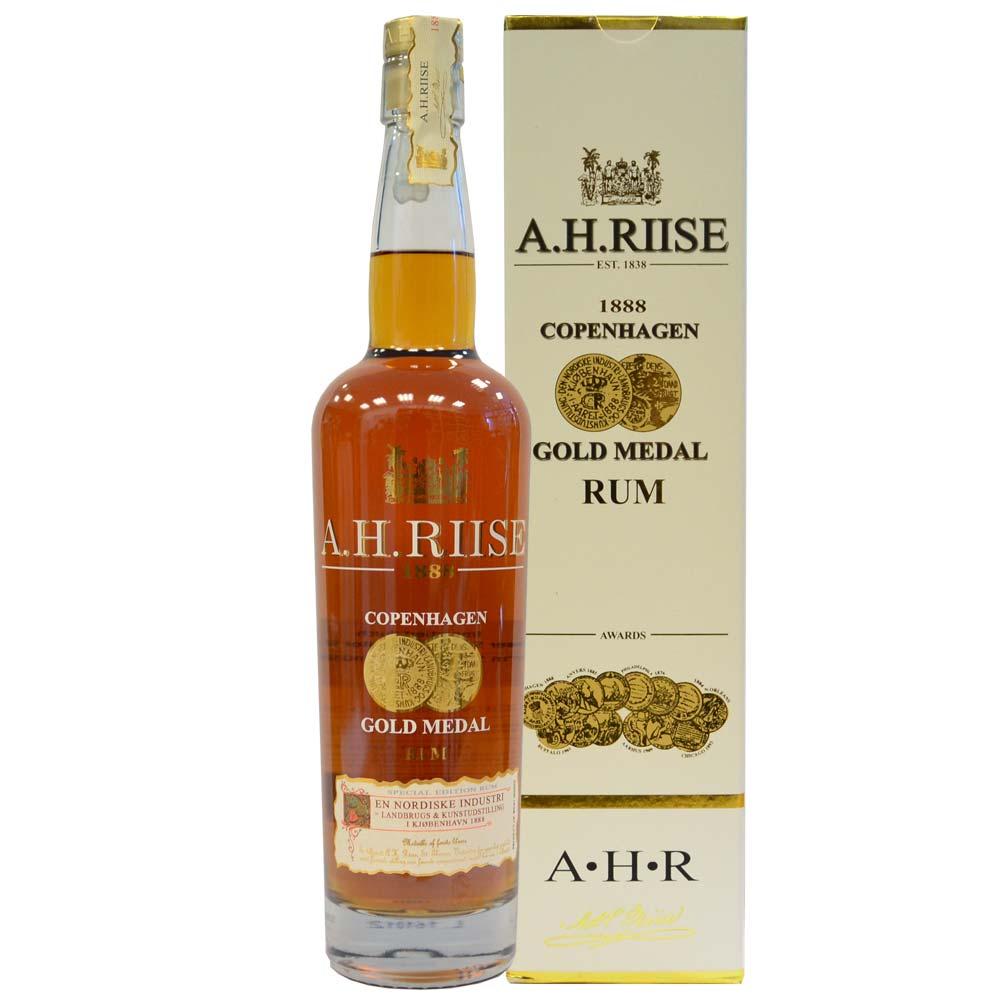 A.H. Riise - 1888 Copenhagen Gold Medal Rum mit Schachtel