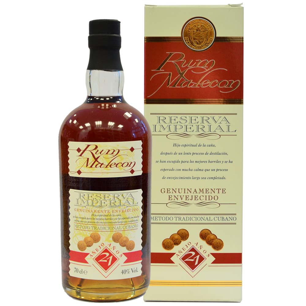 Malecon Rum - Reserva Imperial 12 Anos mit Schachtel