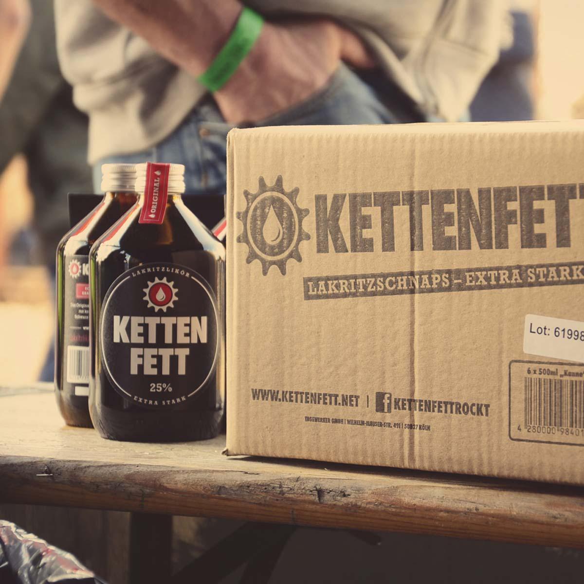 Kettenfett 500ml Kanne/Flasche Karton