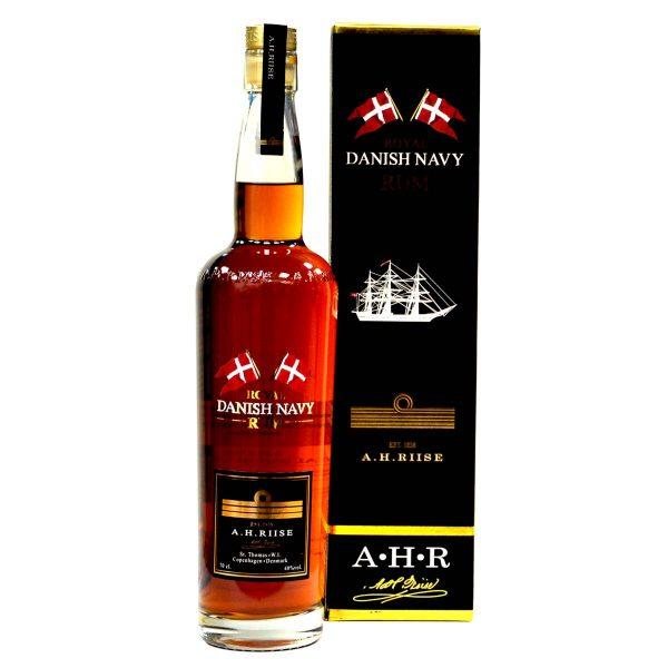 A.H.Riise - Royal Danish Navy Rum mit Schachtel