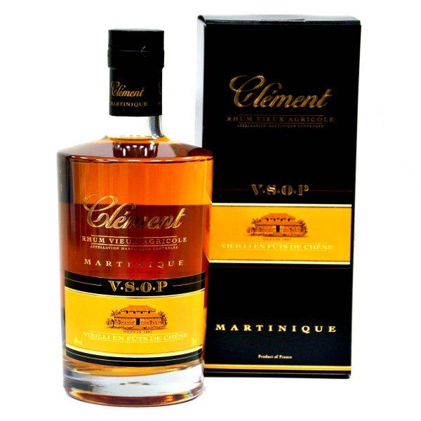 Clement Rhum Vieux VSOP Rum mit Schachtel