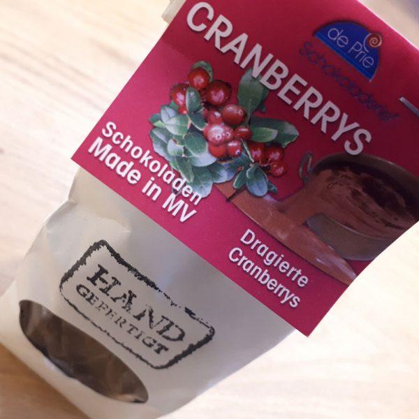 DePrie dragierte Cranberrys