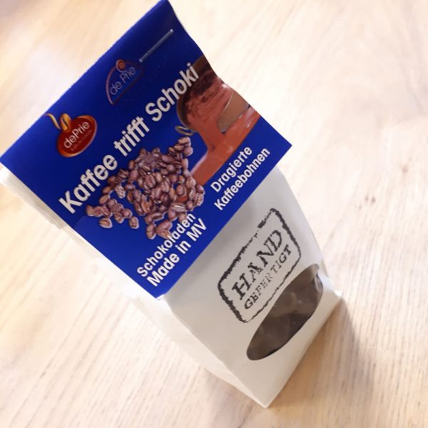 DePrie dragierte Kaffeebohnen