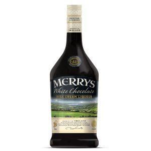 Merrys Irish Cream Liqueur - White Chocolate