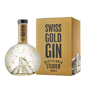 Studer Swiss Gold Gin mit Karton